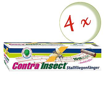 Sparset: 4 x FRUNOL DELICIA® Contra Insect® Stall flycatcher, 1 piece