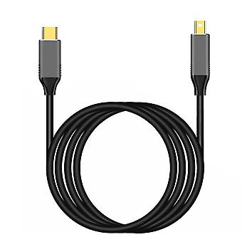 Usbc To Mini Displayport Cable, Usb Type Thunderbolt, Practical Portable Cables