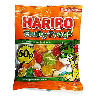 HARIBO Fruity Frogs, 70g Bag