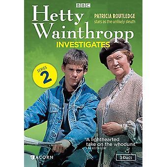 Hetty Wainthropp undersøge: Serie 2 [DVD] USA importerer