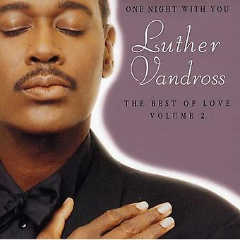 Luther Vandross - Luther Vandross: Vol. 2-One Night with You-Best [CD] USA import