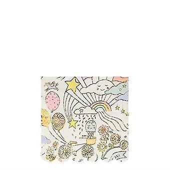 Meri Meri Happy Doodle Small Paper Party Napkins x 16