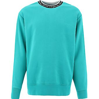 Acne Studios Bi0078ferngreen Men's Green Viscose Sweatshirt