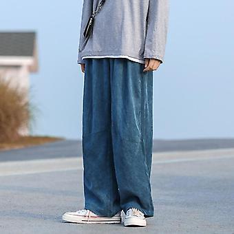 Miesten leveä jalka housut, Streetwear Collegehousut, Ajan lenkkeilijät Pant