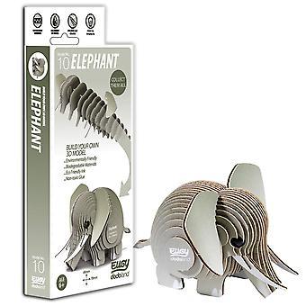 Eugy 3d elephant model craft kit,