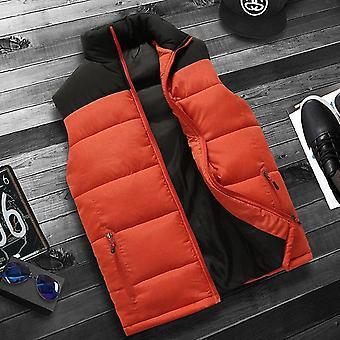 Winter Warm Vest Homme Casual Thicken Waistcoat