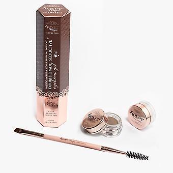 Double Shade Eyebrow Gel And Brush