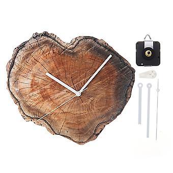 11'Retrò orologio da parete in legno fai-da-mente soggiorno home bar decorazione ufficio 28cm orologio