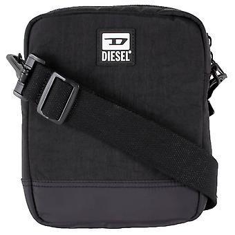 Diesel Altario Cross Body Bag - Zwart