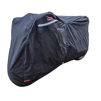 Bike It Indoor Staub Abdeckung - schwarz - groß passt 750-1000cc