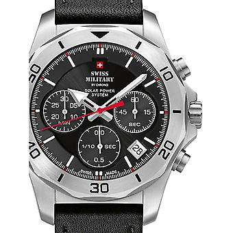 Mens Watch Swiss Military By Chrono SMS34072.04, Cuarzo, 44mm, 10ATM