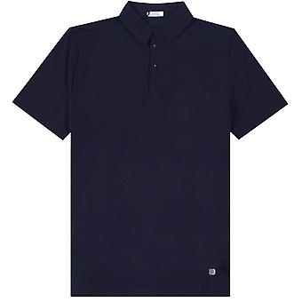 Versace Collection Under Collar Pattern Polo