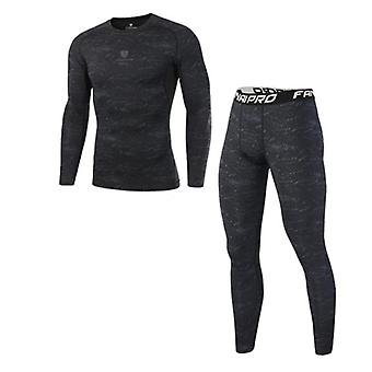 Men's Sport Suits, Quick Dry Running Sets Clothes Sports Joggers Tracksuits