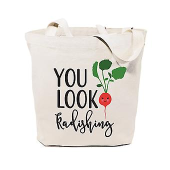 You Look Radishing-cotton Canvas Tote Bag
