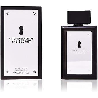 Antonio Banderas Den hemliga Eau de Toilette 100ml EDT Spray