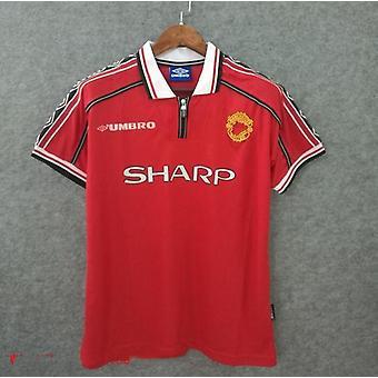 Umbro 1999 Man' Utd Retro Soccer Jersey Football Jerseys Vintage Football