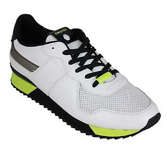Cruyff cosmo white/fluo yellow - men's footwear