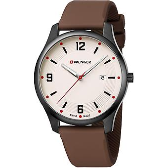 Wenger City Active Leather Mens Watch 01.1441.124