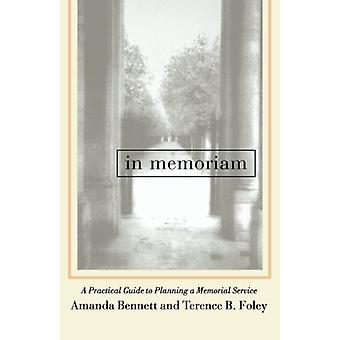 In Memoriam - A Practical Guide to Planning a Memorial Service by Aman