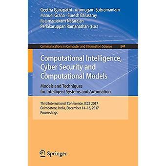 Computational Intelligence - Cyber Security and Computational Models.