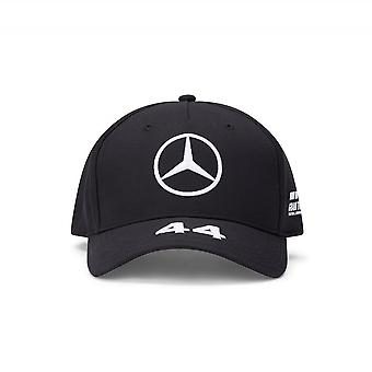 Mercedes AMG Petronas Mercedes Amg Petronas Motorsport F1™ Lewis Hamilton Kid's Baseball-kuljettaja Cap Black