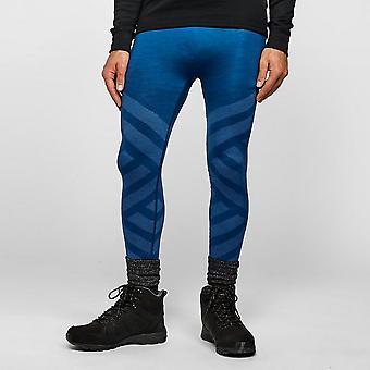 New ODLO Men's Natural + Kinship Baselayer Leggings Blue