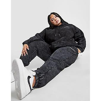 New Supply & Demand Women's Wash Plus Size High Waisted Joggers from JD Outlet Black