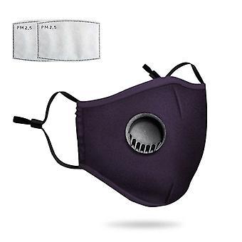Atmungsaktive waschbare wiederverwendbare verstellbare Maske