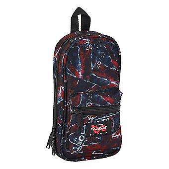 Backpack Pencil Case BlackFit8 (33 Pieces)