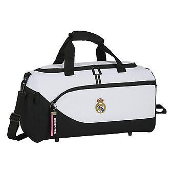 Sports bag Real Madrid C.F. 20/21 White Black (25 L)