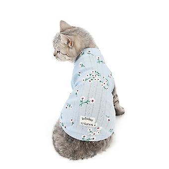 Vêtements de chat d'automne et d'hiver gilet vêtements pour animaux de compagnie