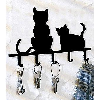 HanFei Schlsselboard Katzen Schlssel Kasten Schlssel aufbewahren