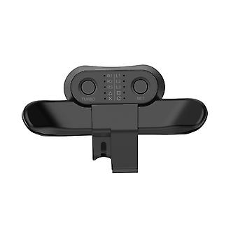 Extended Gamepad Back Button Attachment Only For PS4 2nd Generation Gamepad Joystick Rear Button With Turbo Key Adapter