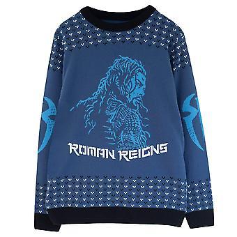 WWE Womens/Ladies Roman Reigns Knitted Jumper