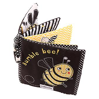 Soft Baby Cloth Book Early Education Toys - Black