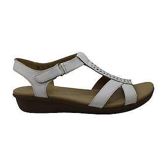 Naturalizer Womens Watson Leather Open Toe Casual Slingback Sandals