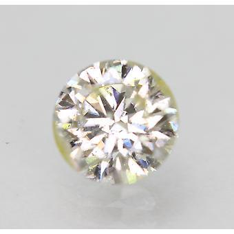 Sertifioitu 0,92 karat I SI2 pyöreä brilliant parannettu luonnollinen löysä timantti 6,33mm