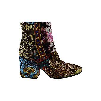 Kenneth Cole New York Womens Odonna stof ronde teen enkel mode laarzen