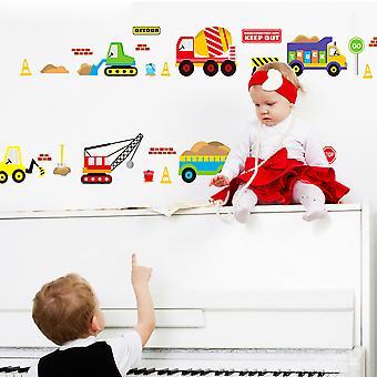 Regenboghorn Toy Cars Wall Decal Sticker JM8269