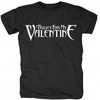 Bullet For My Valentine - Logo Men's Small T-Shirt - Black