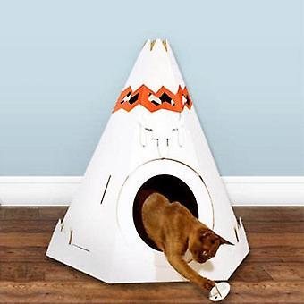 Teepe Cat Toy Playhouse pentru pisoi și pisici mai mici