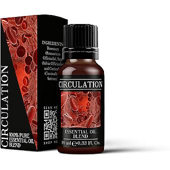 Mystic Moments Circulation Essential Oil Blends 10ml