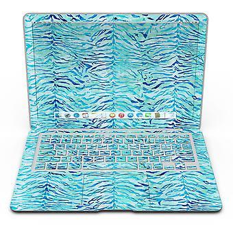 Aqua acuarelă Tiger Model - Macbook Air Skin Kit
