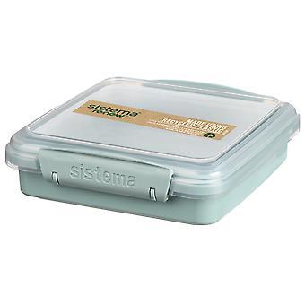 Sistema Renew Sandwich Box, Light Blue