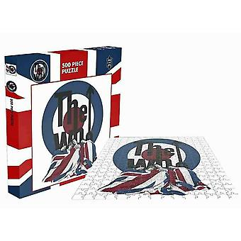Rock Saws The Who The Kids Are Alright Puzzle (500pcs)