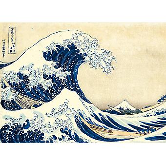 Clementoni Museum The Great Wave, Hokusai High Quality Jigsaw Puzzle (1000 Pieces)