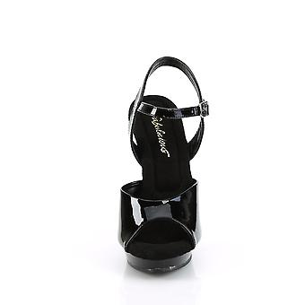 Fabulicious Women's Shoes LIP-109 Blk/Blk