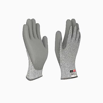 Pu Durable Anti Cut Gloves Level 5 Potection Safety Coating Dipped Gloves