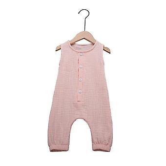 Sommer nyfødte spædbarn Rompers Jumpsuits