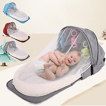 Bebé viaje móvil cuna bebé nido cuna recién nacido multifunción plegable